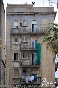 hausfassade in barcelona