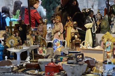 flohmarkt an der kathedrale