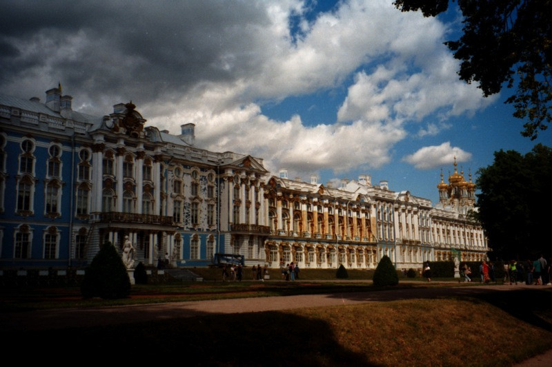 Palace Outside of St. Petersburg, Russia