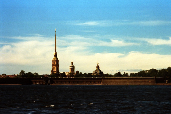 Peter and Paul Fortress by Day - St. Petersburg, Russia