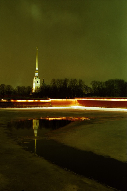 View of Peter and Paul Fortress - St. Petersburg, Russia