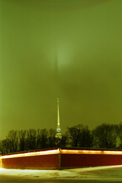 Peter and Paul Fortress at Night - St. Petersburg, Russia