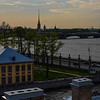 The best part about the apartment...this view over the Neva River!