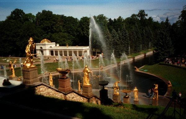 Fountains at Peterhof - Russia