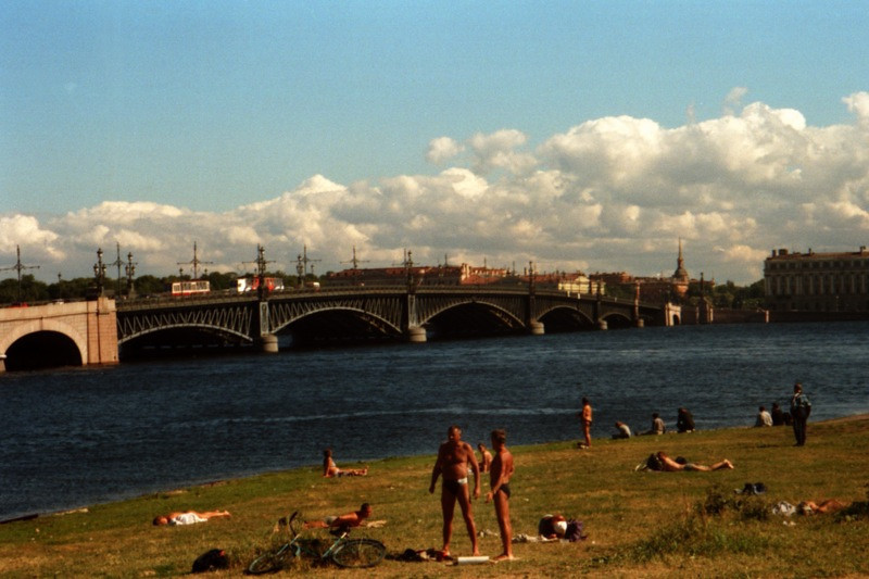 Summer Tans in St. Petersburg, Russia