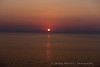 The setting of the Midnight Sun - Baltic Sea - Passage from Finland to Russia