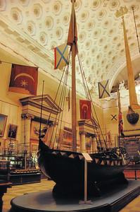Musée de la marine - Botik de Pierre le Grand - мopcкoй мyзeй
