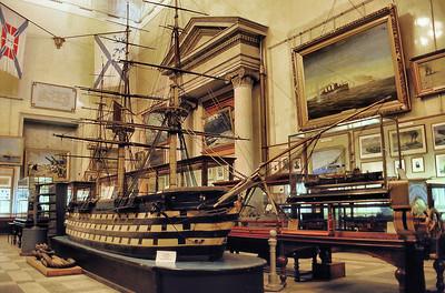 Musée de la marine, musée, fouillis, un peu - мopcкoй мyзeй