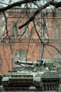 Char du musée de l'Artillerie - Apтиллepийcкий мyзeй
