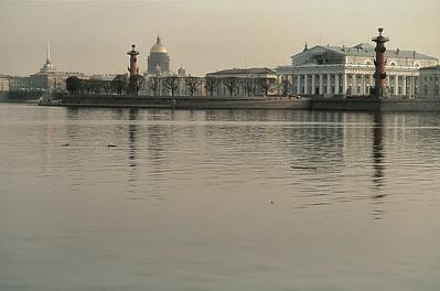 Ile Vassilievski et musée de la Marine - Bacильевcкий ocтpoв