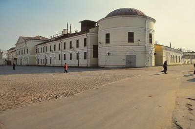 Forteresse Pierre-et-Paul - Hôtel des Monnaies - Петропа́вловская кре́пость - монетный двор