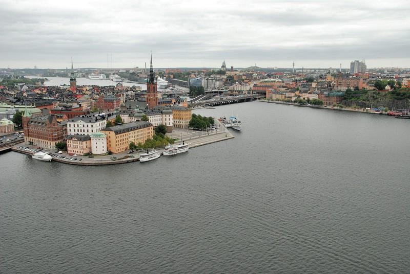 Gamla Stan, Södermalm au second plan