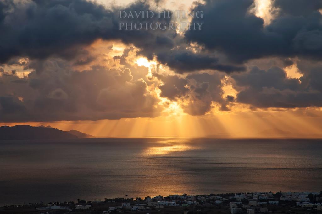 Epic Santorini Sunrise