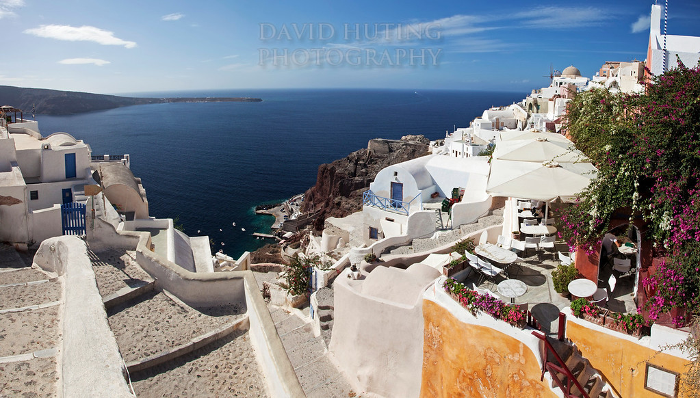 Oia Village Panoramic