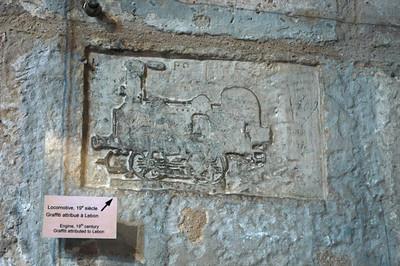Sailor's graffiti, Tour de la Lanterne