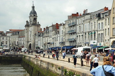 La Rochelle: the old city