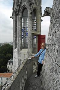 Atop the Tour de la Lanterne
