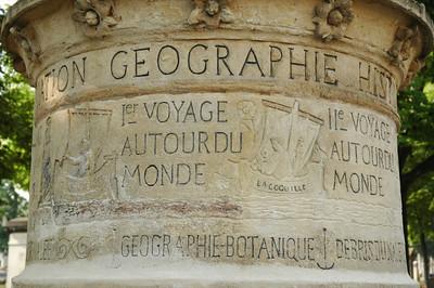 Tomb of Dumont d'Urville, explorer