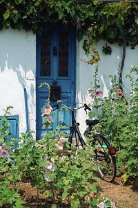 A house on the Île d'Aix