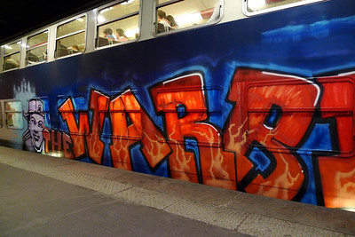 RER graffiti