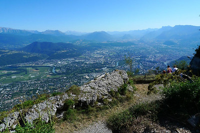 Grenoble and environs from the Fort Eynard