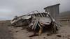 Wreckage, across Adventfjorden from Longyearbyen