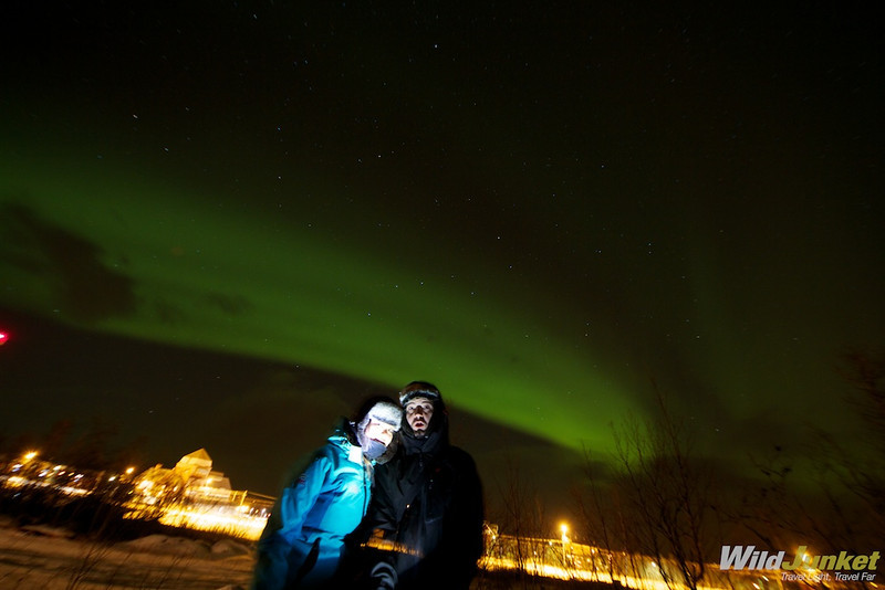 northern lights in abisko sweden