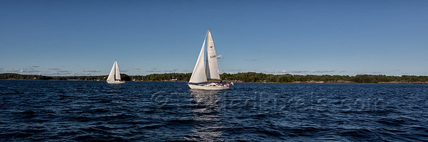 Sailing on Lake Vänern