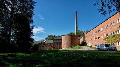 Disused Paper Mill in Fengerfors, Dalsland