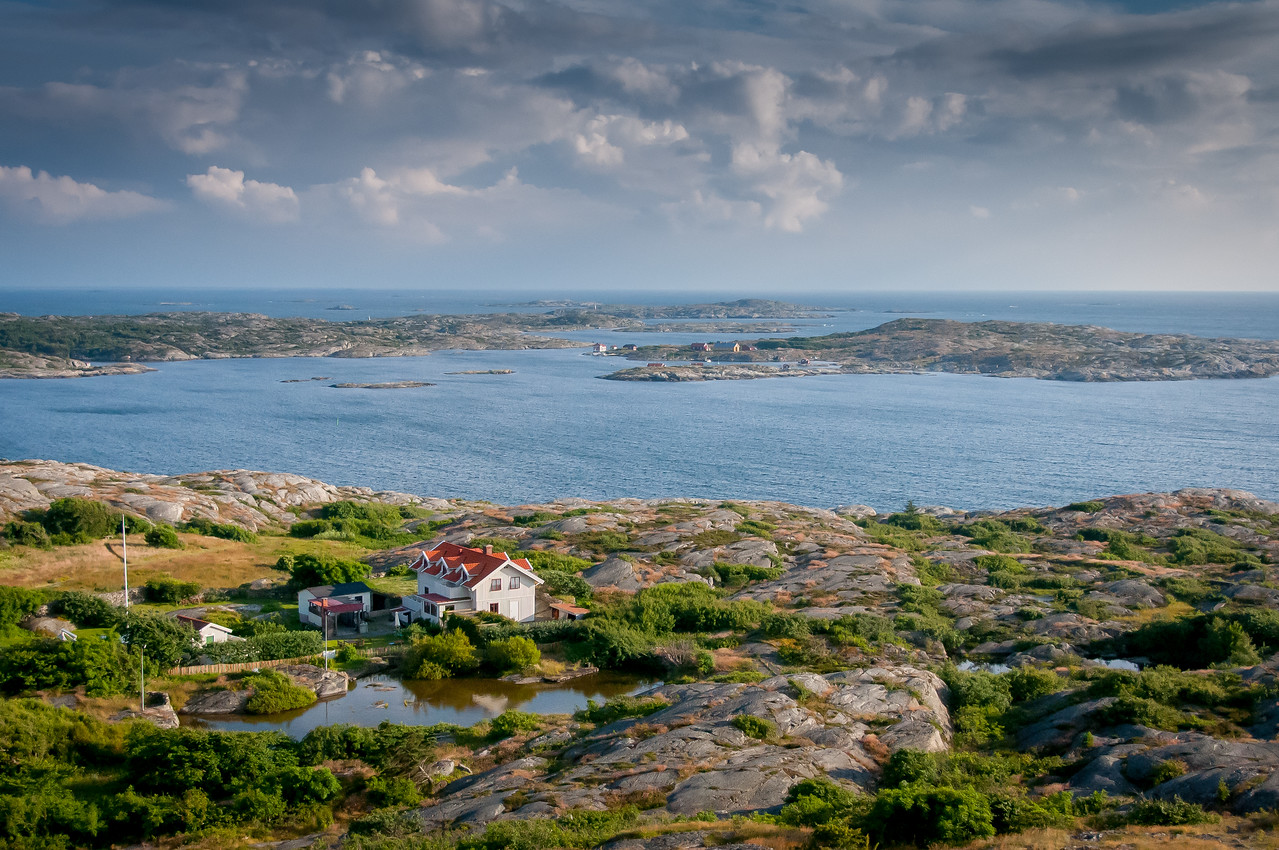 Coastal scenery in Fjallbacka, Sweden