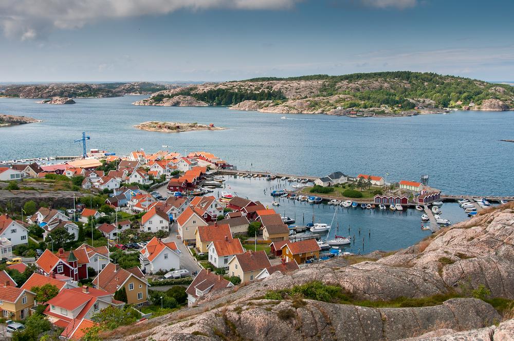 The Harbor in Fjallbacka, Sweden