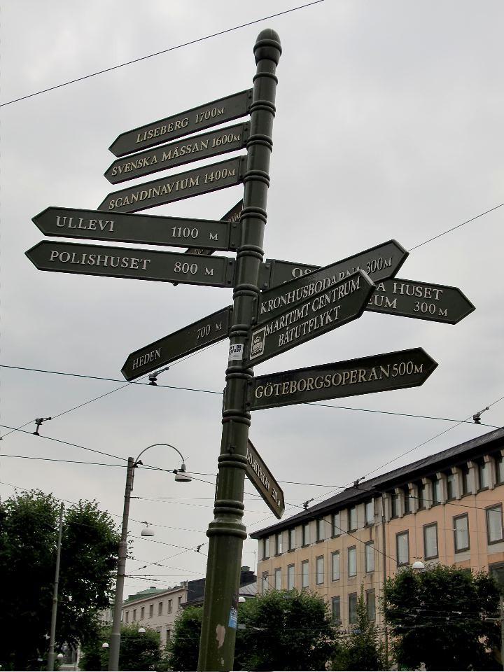 gothenburg street signs