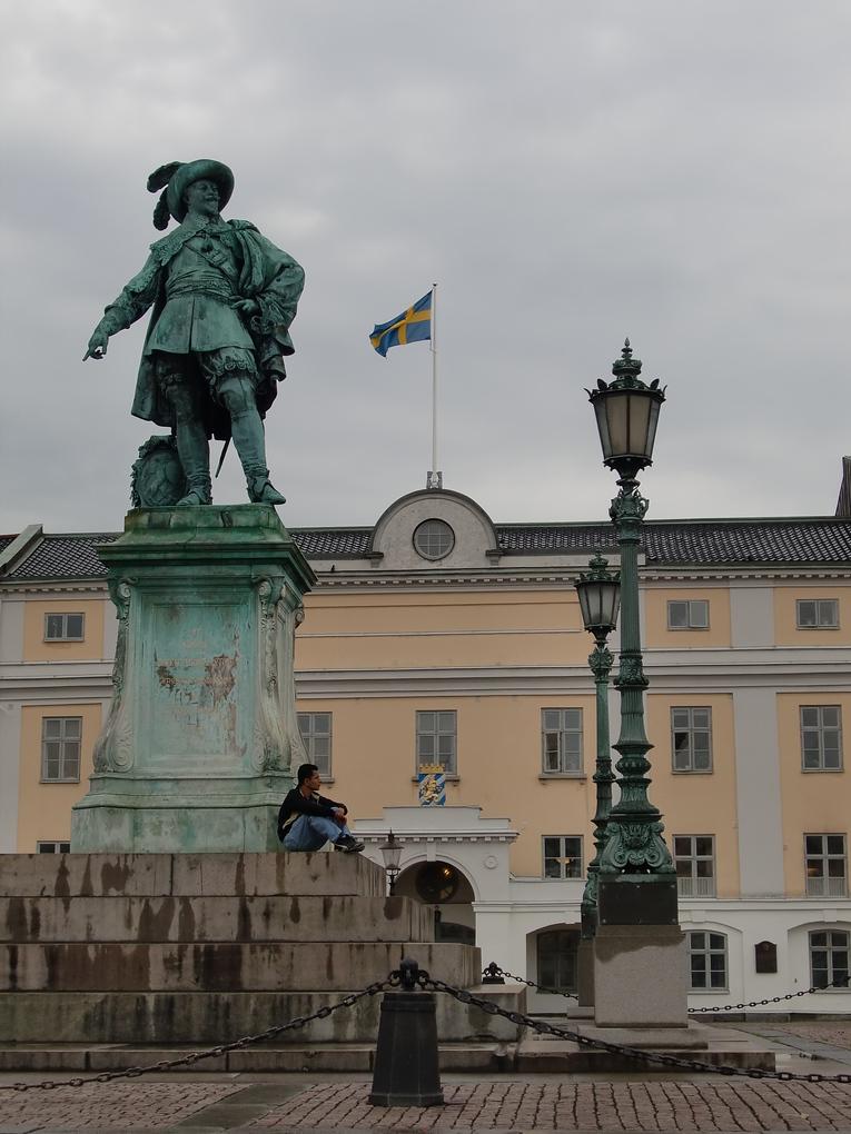 gustav II adolf statue gothenburg sweden