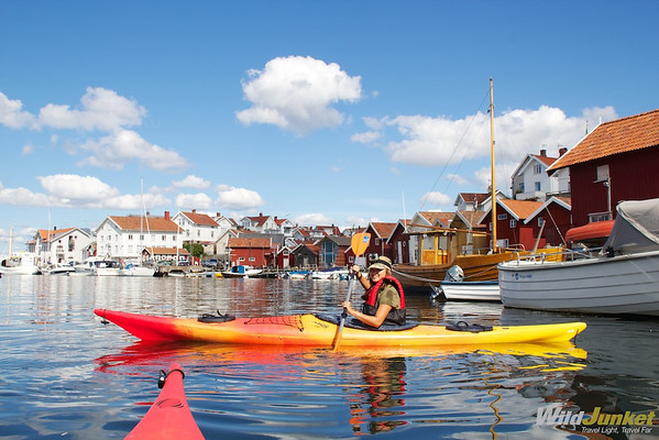 Kayaking trip in West Sweden