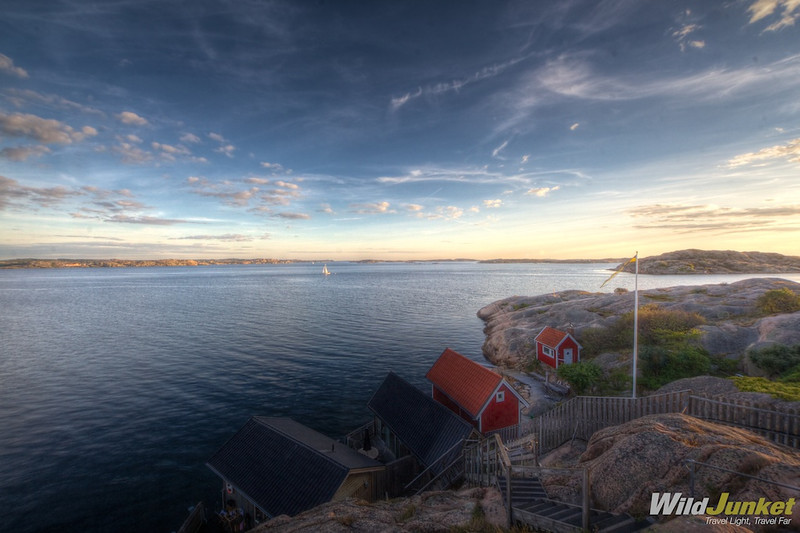 Nordic town of Lysekil