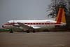"SE-LEK Avro 748 2/244 ""West Air Sweden"" c/n 1725 Maastricht-Aachen/EHBK/MST 28-11-96 (35mm slide)"