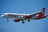 """SE-DSL Boeing 757-236 """"Sunways Airlines"""" c/n 25593 Glasgow/EGPF/GLA 06-06-96 (35mm slide)"""