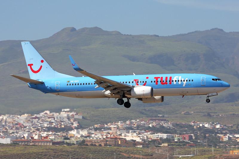 """SE-DZV Boeing 737-804 """"TUIfly Nordic"""" c/n 32904 Las Palmas/GCLP/LPA 03-02-16"""
