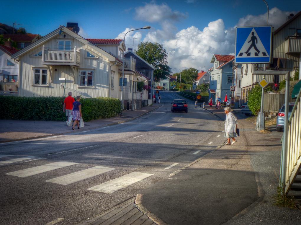 smogen sweden streets