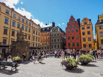 Stortorget - Old town of Stockholm