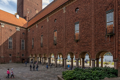Arches - Stockholm City Hall