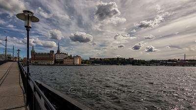 Crossing Norra Järnvägsbron