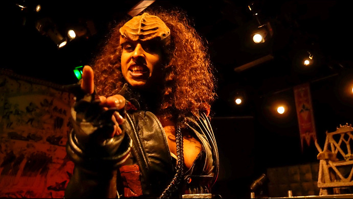 Visit With Klingons Who Are In Stockholm To Promote Tourism To Their Home World