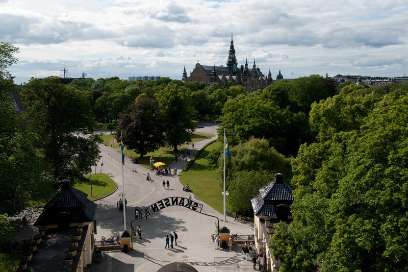 View from, Skansen open air folk museum, Stockholm