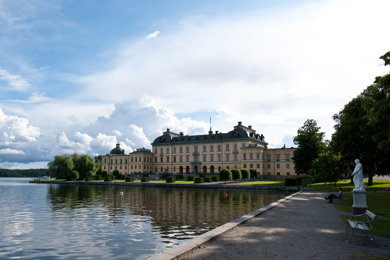 Drottningholm slott, palace of the King and Queen, near Stockholm
