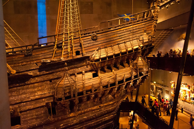 The ship Vasa, circa 1628, Vasa Museum (vasamuseet) , Stockholm