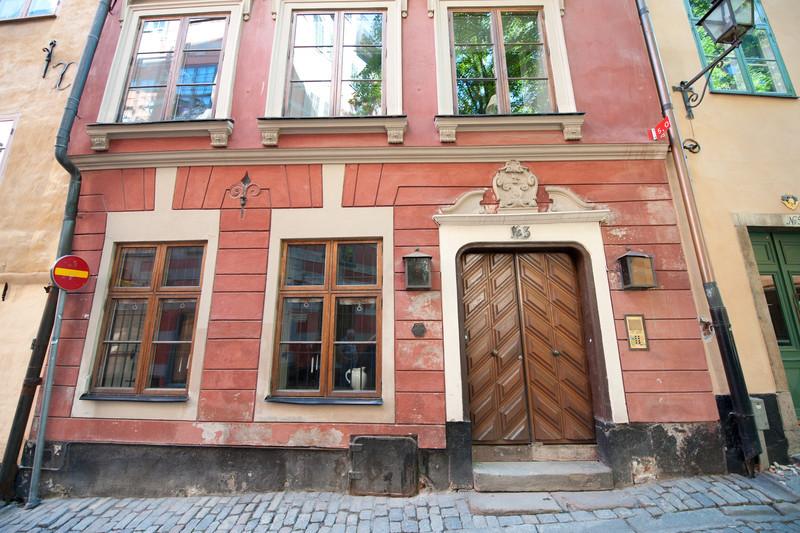 Gamla Stan house, Stockholm