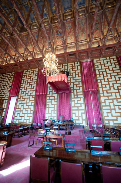 Council Chambers, City Hall, Stockholm