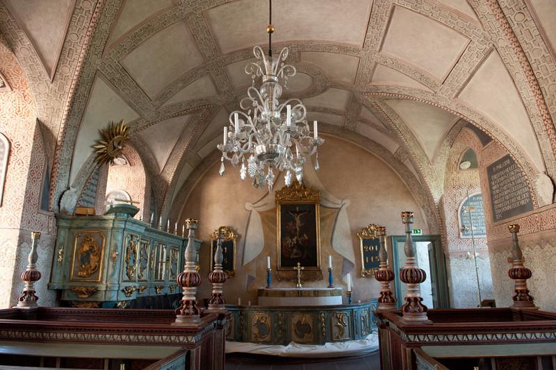 Chaple in Kalmar Slott Castle, circa 12th century
