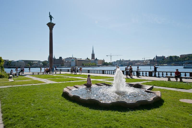 Plaza at City Hall, Stockholm